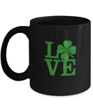 Love Green Glover St. Patrick's Day March Drinking Coffee Mug - lkrseller, Coffee Mug ,