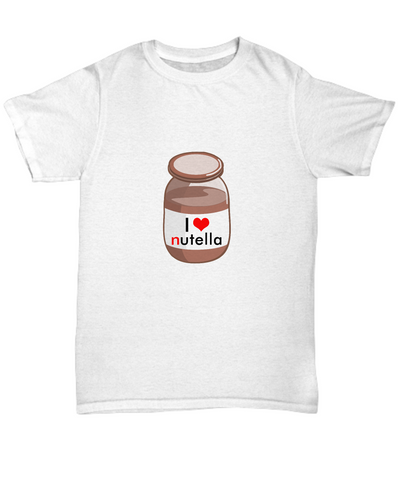 I Love Heart Nutella Hazelnut Chocolate Lover T-Shirts - lkrseller shirts Shirt / Hoodie, t-shirts, hoodies, tank tops, custom