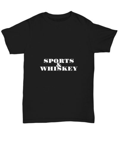 Sports And Whiskey Bourbon Drinking Fans T-Shirt - lkrseller, Shirt / Hoodie ,