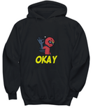 Super Hero Villain Okay Hand Sign Comics Sweater Hoodie - lkrseller, Shirt / Hoodie ,