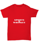 Sports And Whiskey Bourbon Drinking Fans T-Shirt - lkrseller shirts Shirt / Hoodie, t-shirts, hoodies, tank tops, custom