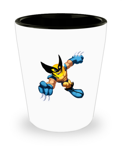 Super Hero Claws Emoji Drinking Shot Glass - lkrseller, Shot Glass ,