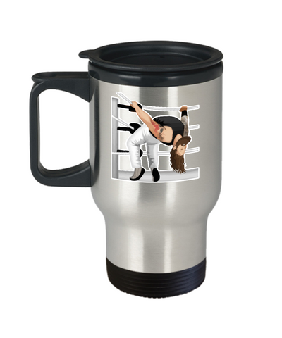 Wyatt Sister Abigail Move Wrestler Travel Mug - lkrseller, Travel Mug ,