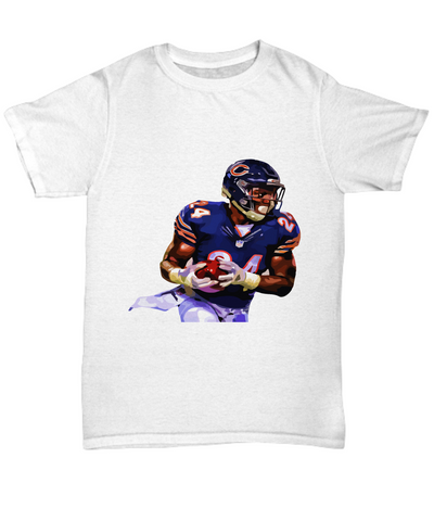 Chicago Running Back Howard Football T-Shirt - lkrseller, Shirt / Hoodie ,
