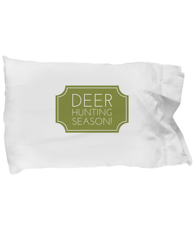 Deer Hunting Season! Green Buck Hunt Bedding Pillow Case - lkrseller shirts Pillow Case, t-shirts, hoodies, tank tops, custom
