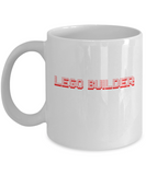 Lego Builder Blocks Toys Maker Coffee Mug - lkrseller, Coffee Mug ,