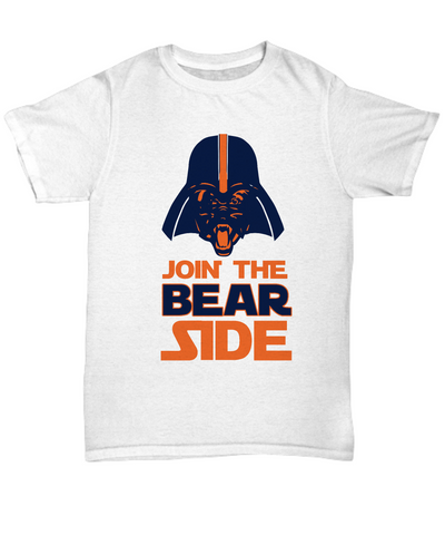 Join the Bear Side Chicago Football T-Shirt - lkrseller, Shirt / Hoodie ,