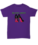 Blood Shoes Heels Boodak Song Quote T-Shirt - lkrseller, Shirt / Hoodie ,