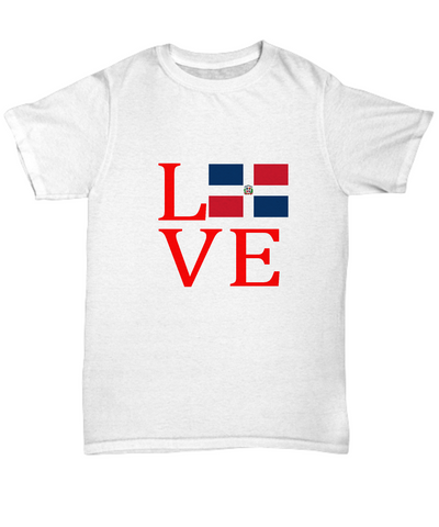 Dominican Republic DR Flag Love Uptown T-Shirt - lkrseller, Shirt / Hoodie ,