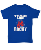 Train Like Rocky Boxing Lover Champ Gloves Hanging T-Shirt - lkrseller shirts Shirt / Hoodie, t-shirts, hoodies, tank tops, custom