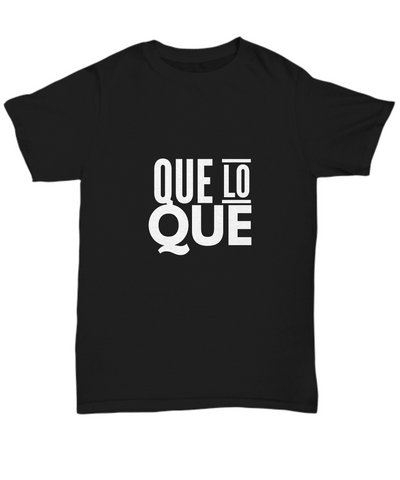 Que Lo Que Dominican Saying Or Quote T-Shirt - lkrseller, Men's Shirts ,