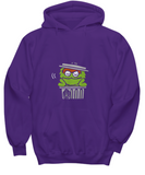 Oscar the Grouch Cute Muppet Trash Can Sweater Hoodie - lkrseller, Shirt / Hoodie ,
