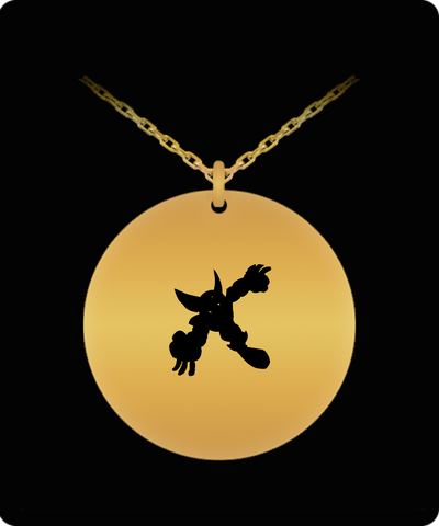 Wolverine Emoji Superhero 18K Gold Plated Chain - lkrseller shirts Laser Engraved Necklace, t-shirts, hoodies, tank tops, custom