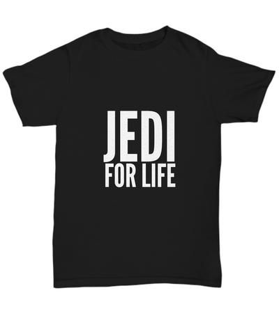 Jedi For Life Sci Fi Movie Classic T-Shirt - lkrseller, Shirt / Hoodie ,