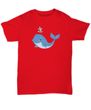 Whale Blowhole Water Lover Save T-Shirt - lkrseller, Shirt / Hoodie ,