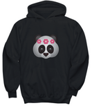 Panda Bear Flower Crown Filter Sweater Hoodie - lkrseller, Shirt / Hoodie ,