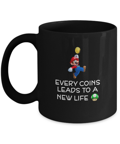 Every Coins Leads To A New Life Coffee Mugs - lkrseller shirts Mugs, t-shirts, hoodies, tank tops, custom