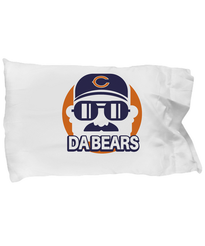 Da Bears Pillowcase Bedding Ditka - lkrseller, Pillow Case ,