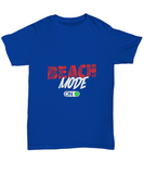 Beach Mode Red On Green Button T-Shirt - lkrseller, Shirt / Hoodie ,