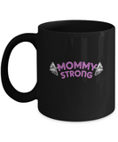 Mommy Strong Weights Fitness Mother's Day Gift Coffee Mug - lkrseller, Mugs ,