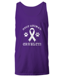 Stop Animal Cruelty! Paws Ribbon Save Dogs and Pets Tank Top - lkrseller, Shirt / Hoodie ,