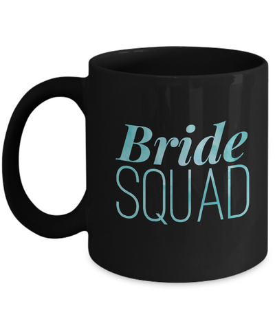 Bride Squad Bridal Shower Party Team Coffee Mug - lkrseller, Mugs ,