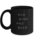 Red Wine And Beer Independence Day Coffee Mug - lkrseller, Coffee Mug ,