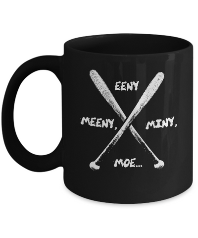 Eeny Meeny Miny Moe Spike Bat Scary Coffee Mug - lkrseller shirts Mugs, t-shirts, hoodies, tank tops, custom