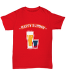 Happy Sunday Beers and Drinks Pint Drinking T-Shirt - lkrseller shirts Shirt / Hoodie, t-shirts, hoodies, tank tops, custom