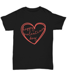 Happy Valentines Day Script Perfect Him and Her Gift - lkrseller, Shirt / Hoodie ,