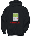 Gamer Life Handheld Game Boy Device Classic Vintage Retro Hoodie - lkrseller, Shirt / Hoodie ,