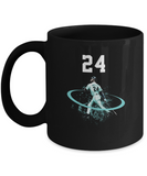 24 Baseball Player Home Run Shot Left Seattle Coffee Mug - lkrseller, Mugs ,