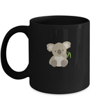 Koala Bear Cute Leaf Australia Drinking Coffee Mug - lkrseller, Coffee Mug ,