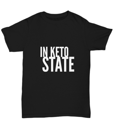 In Keto State Ketogenic Diet Plan Food T-Shirt - lkrseller, Shirt / Hoodie ,
