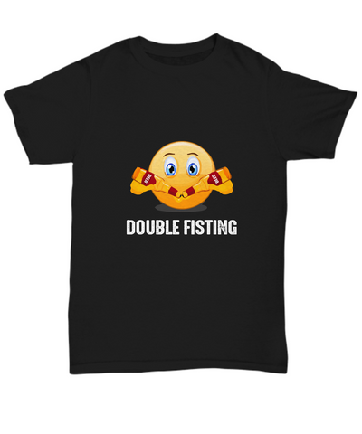 Double Fisting Beer Drinking Two At Once T-Shirt - lkrseller, Shirt / Hoodie ,