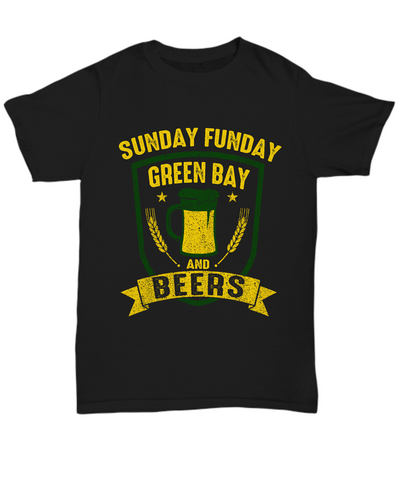 Sunday Funday Green Bay And Beers - lkrseller shirts Shirt / Hoodie, t-shirts, hoodies, tank tops, custom