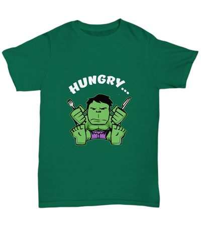 Hungry Incredible Hulk Fork and Knife Foodie T-Shirt - lkrseller shirts Shirt / Hoodie, t-shirts, hoodies, tank tops, custom