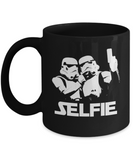 Storm Troppers Funny SciFi Movie Selfie Mug - lkrseller, Mugs ,