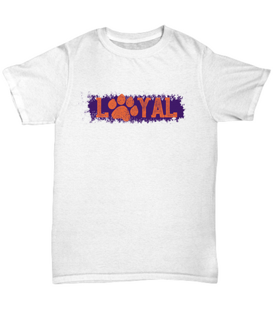 Loyal Paws College Football Fan Purple Tee Shirt - lkrseller shirts Shirt / Hoodie, t-shirts, hoodies, tank tops, custom