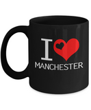 I Love Heart Manchester Pray For UK Coffee Mug - lkrseller, Mugs ,