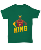 King James LBJ Cleveland Basketball T-Shirt - lkrseller, Shirt / Hoodie ,