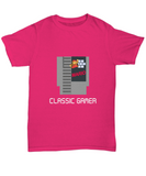 Classic Gamer Cartridge Mario Game Vintage T-Shirt - lkrseller, Shirt / Hoodie ,