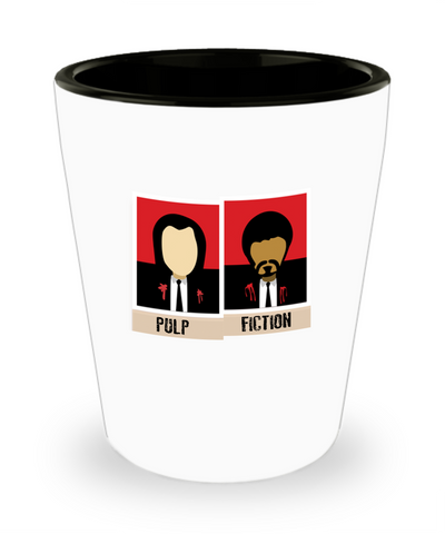 Pulp Fiction Movie Quote Cute Drinking Shot Glass - lkrseller, Shot Glass ,