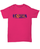 Loyal Paws College Football Fan Purple Tee Shirt - lkrseller, Shirt / Hoodie ,