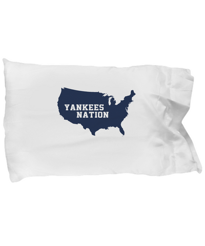 Yanks Nation America Team Pinstripes Bedding Pillow Case - lkrseller, Pillow Case ,