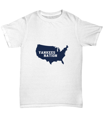 Yankees Nation United States Baseball T-Shirt - lkrseller, Men's T-Shirts ,