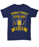 Sunday Funday Pittsburgh Football Beers T-Shirt - lkrseller, Shirt / Hoodie ,