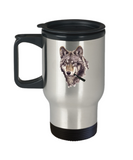 Wolf Vape Pen Smoking Pretty Travel Mug - lkrseller, Travel Mug ,