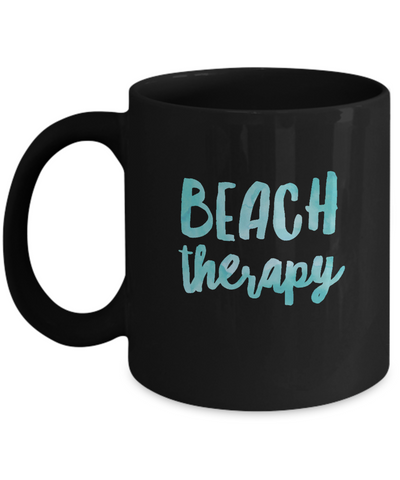 Beach Therapy For Beach Ocean Lovers Coffee Mug - lkrseller, Mugs ,