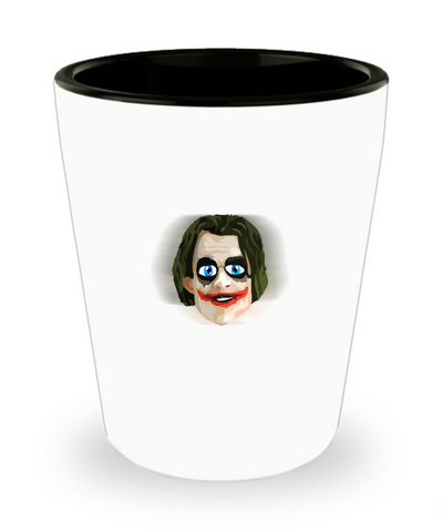 Custom Cool Awesome Comic Book Villain Drinking Shot Glass - lkrseller, Shot Glass ,